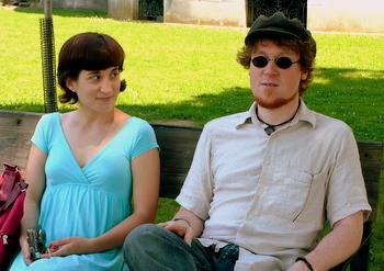 Stephanie and Dan