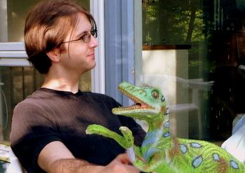 Xen and the dinosaur